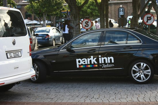 Park Inn by Radisson Cape Town Foreshore: Complimentary Car Service