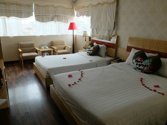 Hanoi Guest House : Family room on the 8th floor