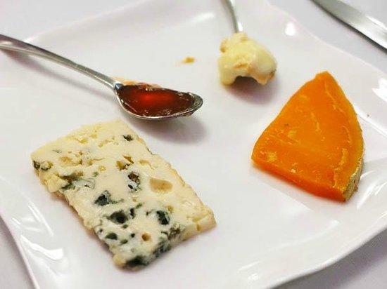Restaurant Frédéric Doucet : Cheese