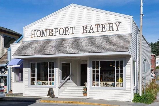 Homeport Eatery: Entrance