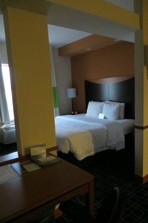 Fairfield Inn & Suites Seattle Bremerton: Rm 426