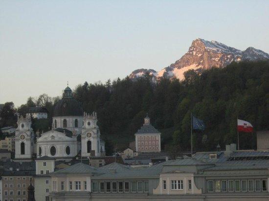 Bristol Hotel Salzburg: Morning view