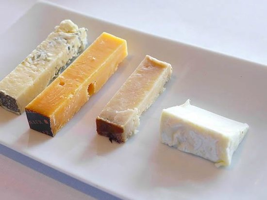 Quay Restaurant: A selection of cheese