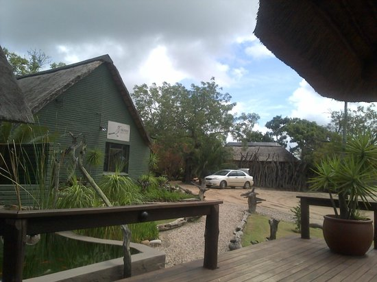 Nkorho Bush Lodge: Reception area