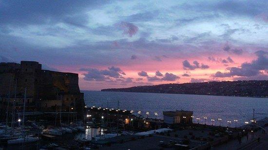 Grand Hotel Santa Lucia: 夕焼けは最高