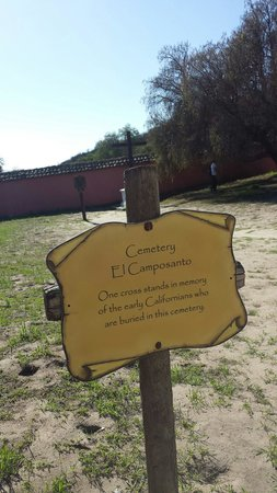 La Purisima State Historical Park : The cemetery