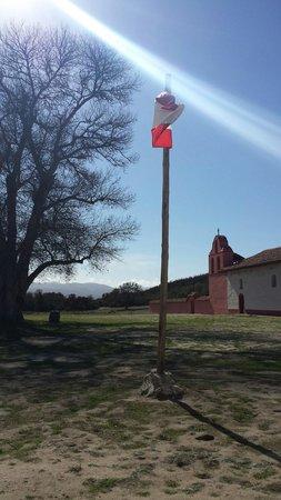 La Purisima State Historical Park : Sun beam