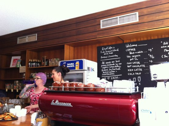 Amelia Espresso: The two ladies who served us behind the counter that day