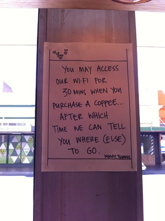 Amelia Espresso: Love the attitude and directness of the team