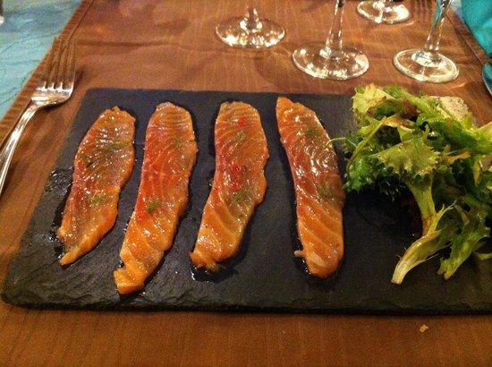 Plaisirs gourmands : Saumon gravlax