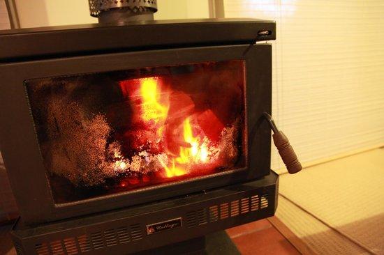 Valley Ranges Getaways : Fireplace!