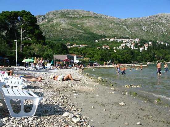 Srebreno Beach: Пляж Srebreno