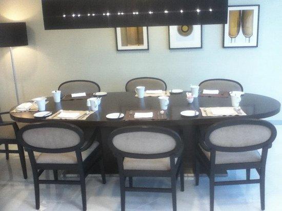 Holiday Inn Muscat Al Seeb: Restaurant family area