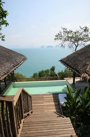 Six Senses Yao Noi : View from Villa 40 at Six Senses, Yao Noi