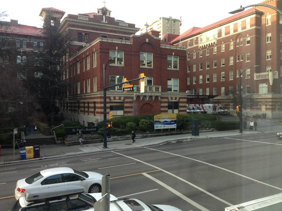 The Burrard: View from 2nd Floor room