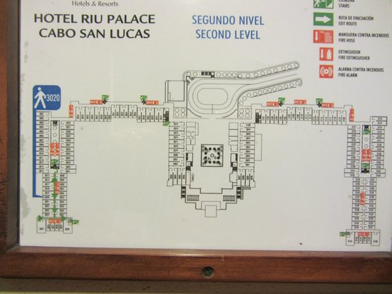 General Floor Plan Of The Hotel Picture Of Hotel Riu