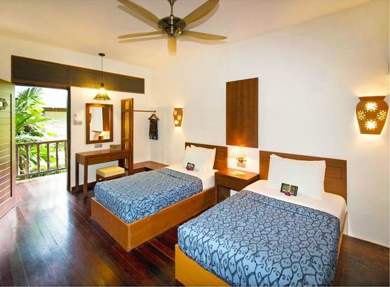 Sukau Rainforest Lodge: Our Spacious Twin Rooms