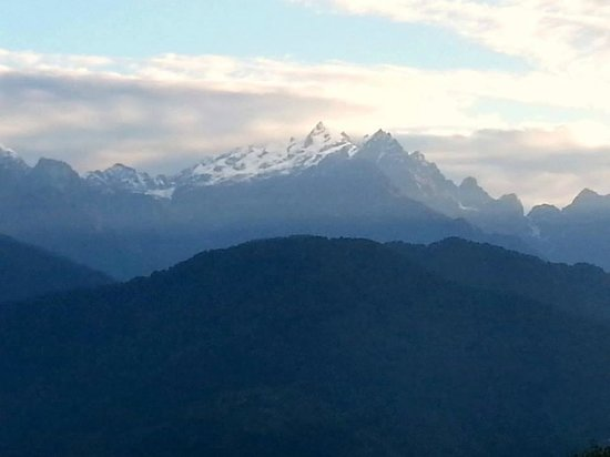The Elgin Mount Pandim, Pelling: Mount K2 visible from the room