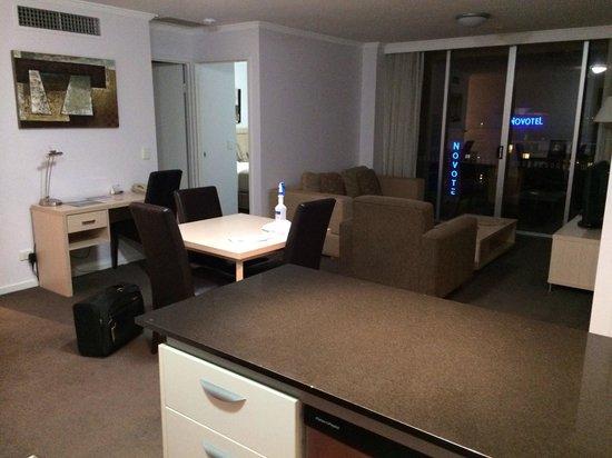 Oaks Lexicon Apartments: Lounge