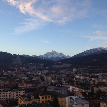 Hilton Innsbruck: View from room 1409