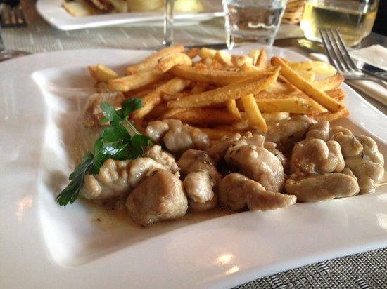 Le Pim'Pi Bistrot : plat du jour : riz d'agneau