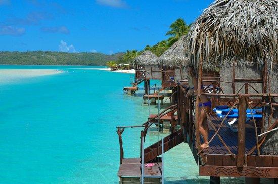 Aitutaki Lagoon Resort & Spa : Overwater bungallow