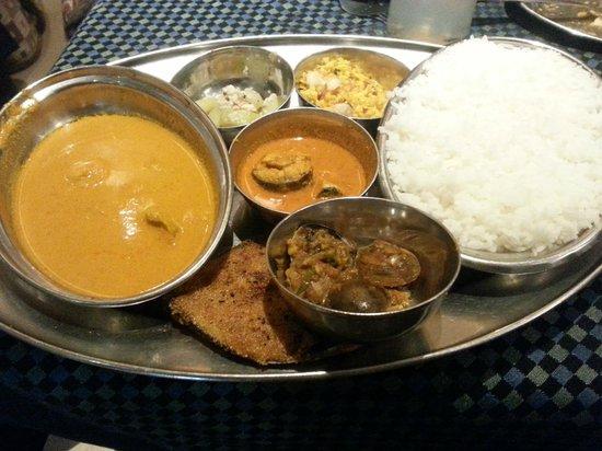 Ritz Classic Restaurant and Bar: Ritz Fish Thali