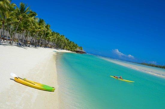 Aitutaki Lagoon Resort & Spa: Beach