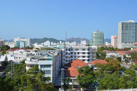 Hai Au Hotel: Вид с балкона