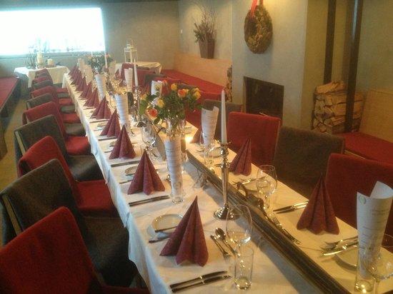 Restaurant Rossalm : Geburtstagsfeier