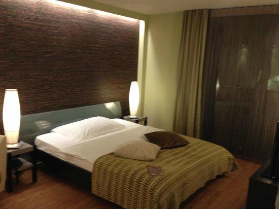 Hotel Allegro Bern : Schlafzimmer