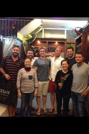 Sesan Tailor: Happy customers