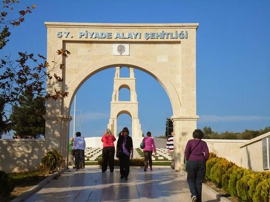 57. Alay Şehitliği - Picture of Canakkale Sehitleri Aniti ...