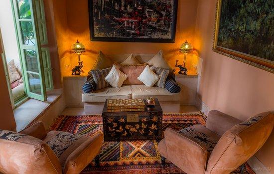 Riad Camilia: Living Room