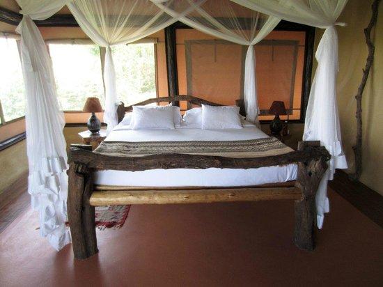 Kyambura Game Lodge: Bed