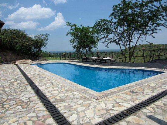 Kyambura Game Lodge: Swimming Pool