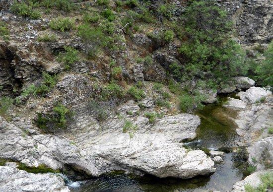 Kolympia, Grecja: русло реки