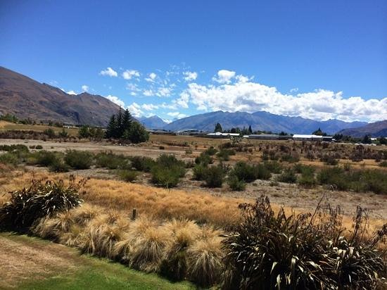 Mercure Oakridge Resort Lake Wanaka: Mountain veiw from our room