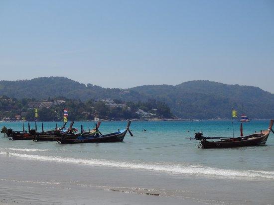 Longtail hire on Kata Beach
