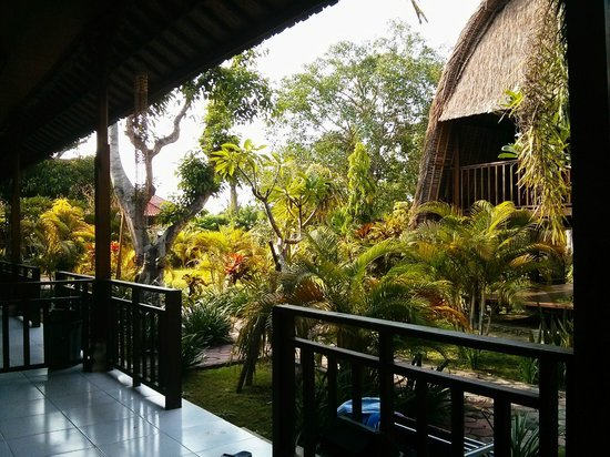 Bunda 7 Bungalow : View from room