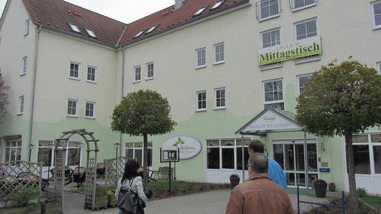 AKZENT Hotel Frankenberg: Eingangsbereich