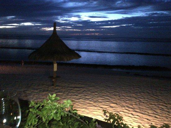 Victoria Beachcomber Resort & Spa : View from La Casa Restaurant