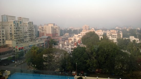 Royal Orchid Central Pune: View from my window