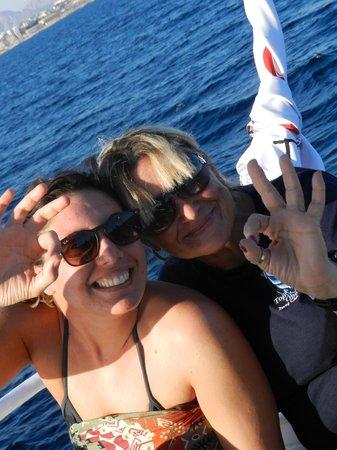 Diving Center Dive Club Italiano: Silvia e Antonella