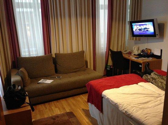Scandic Stortorget : Vores værelse