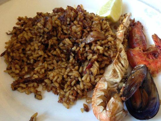 El Trull : Paella al estilo del chef