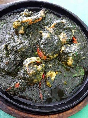 Baan Itsara Restaurant : Big prawn with some herb paste