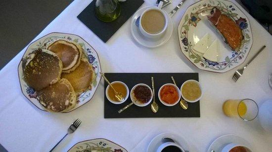 Torre Maestre: El desayuno
