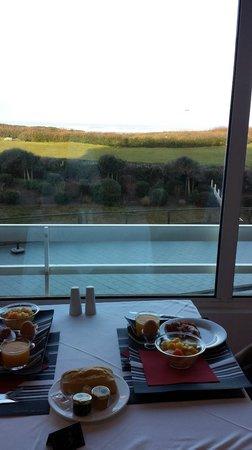 Atlanthal : Las vistas del desayuno