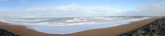 Atlanthal : Playa del hotel (plage des cavalliers)
